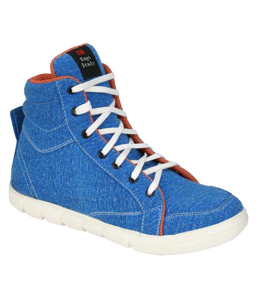 Wave Walk Navy Casual Boot