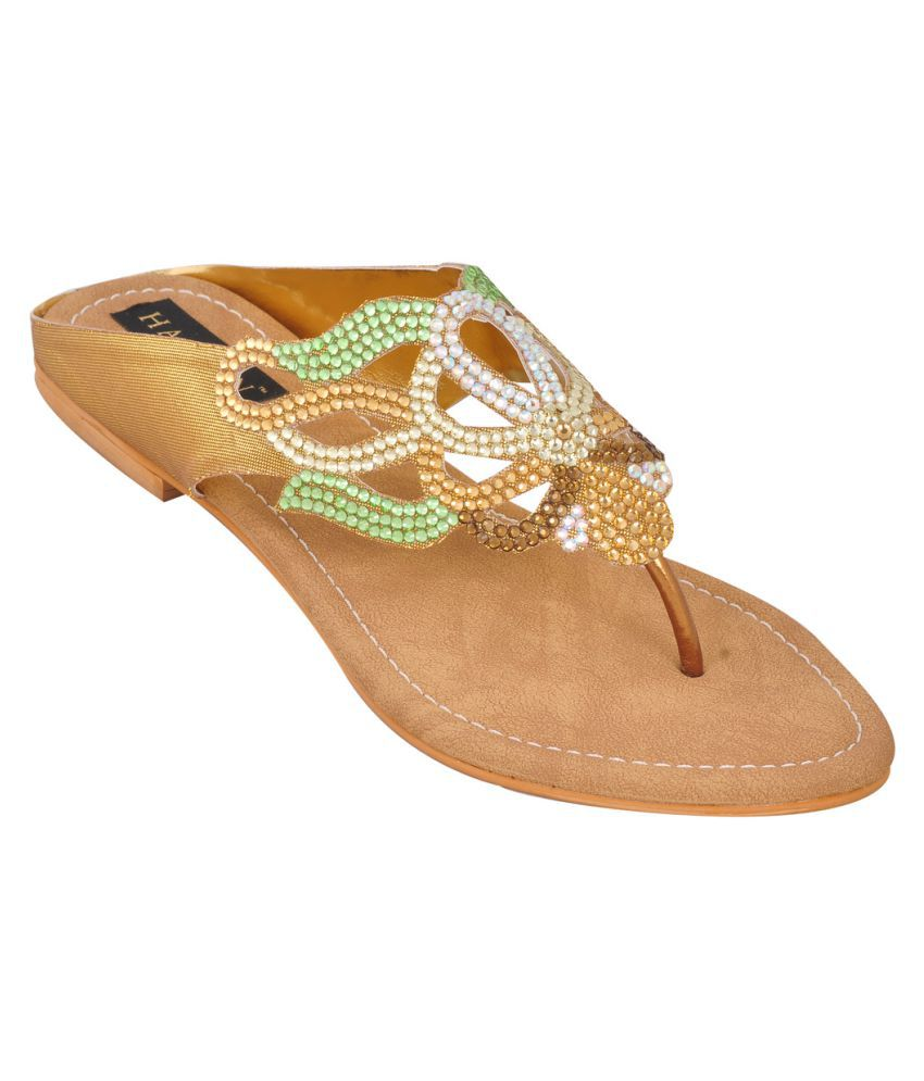 Hamlyn Shoes Multi Color Flats