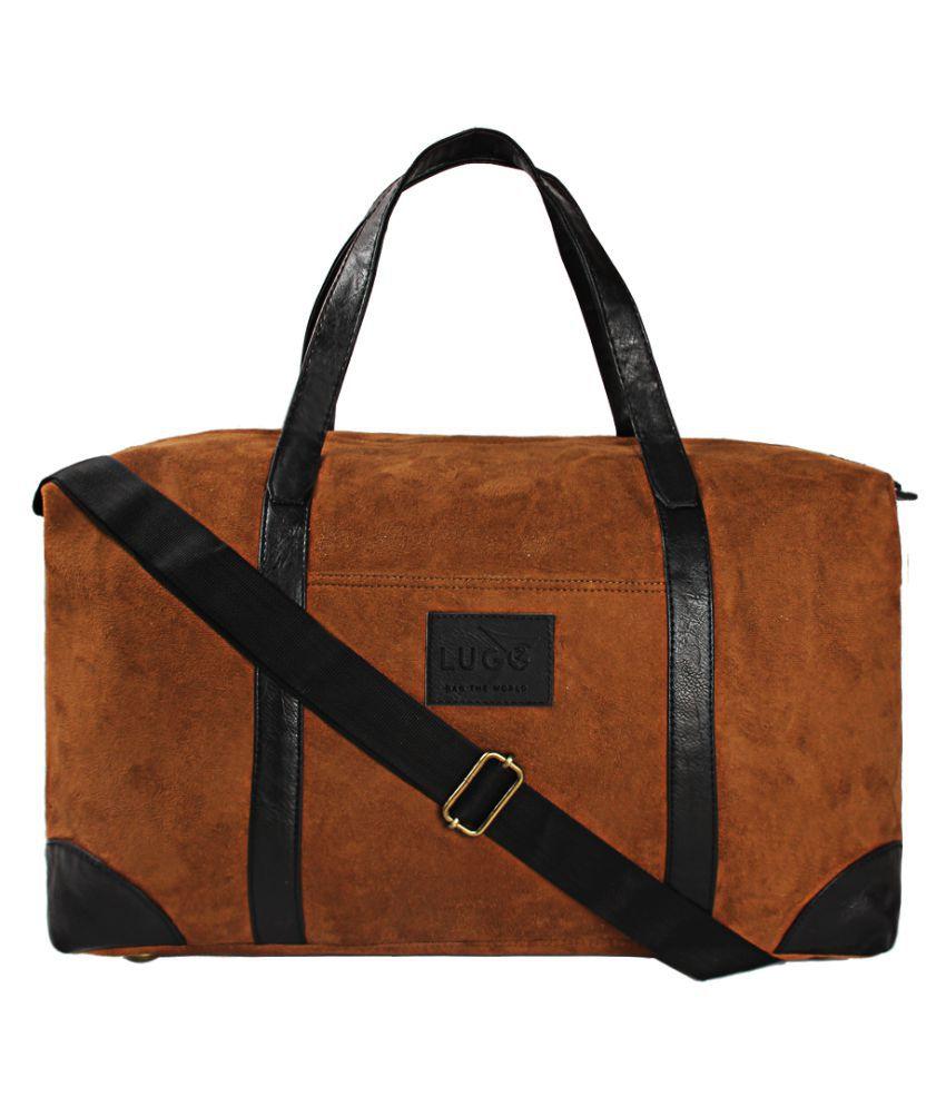 Lugo Brown Gym Bag