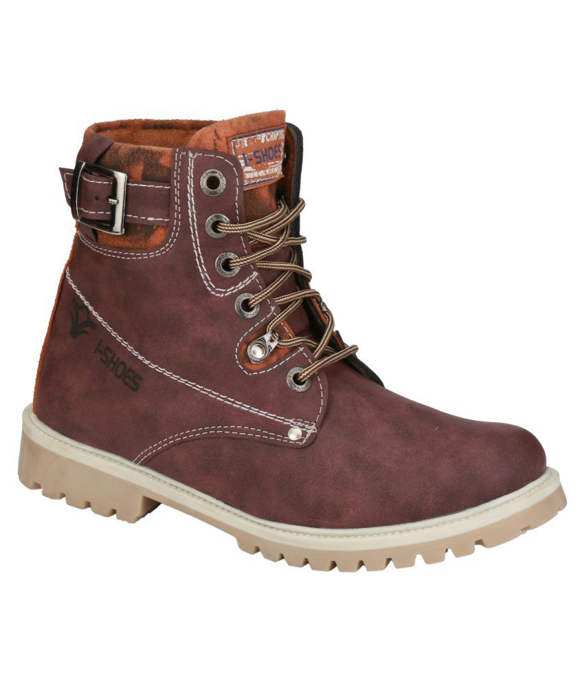 Wave Walk Purple Casual Boot