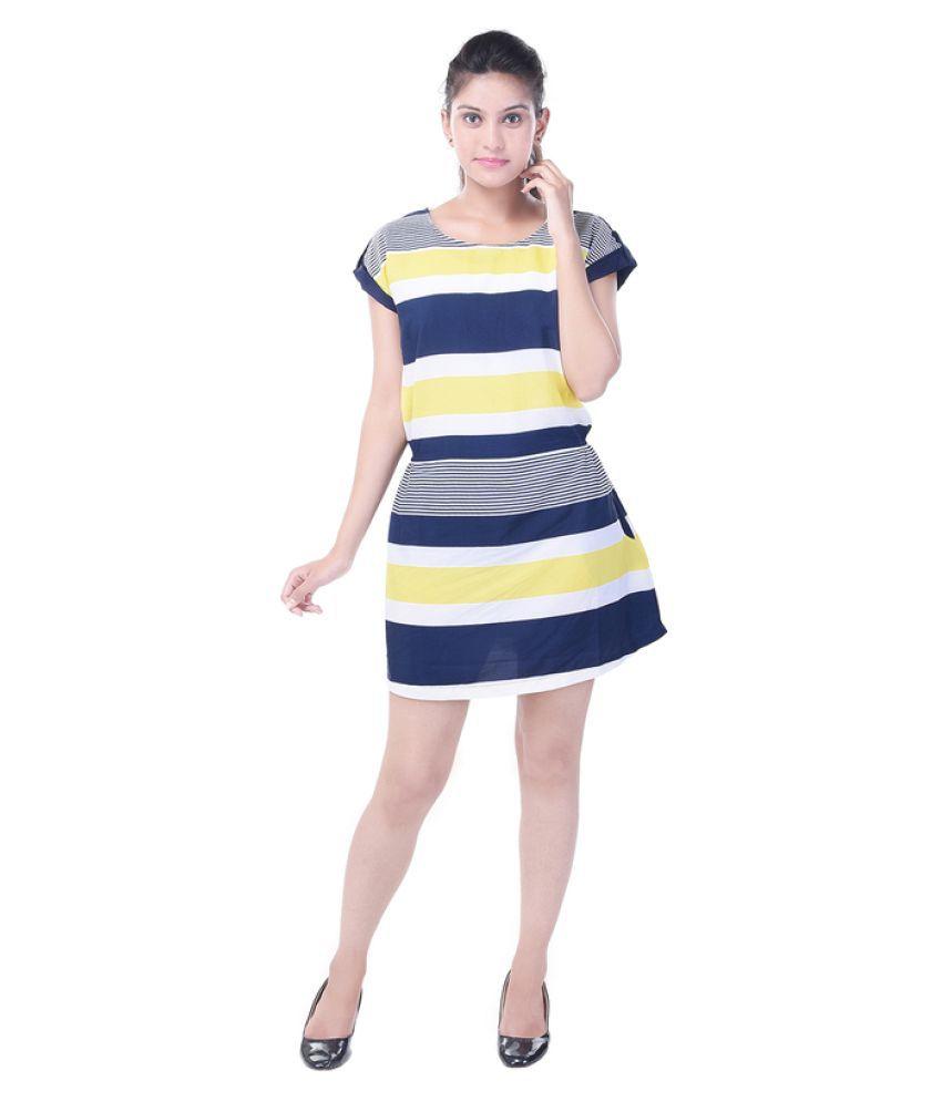 Saarvi Fashion Crepe Dresses