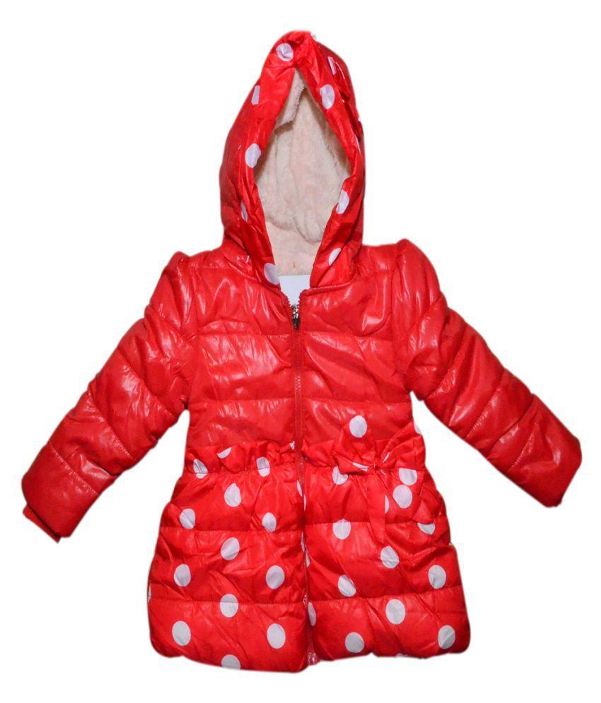 Winter Fuel Red Kids  jacket