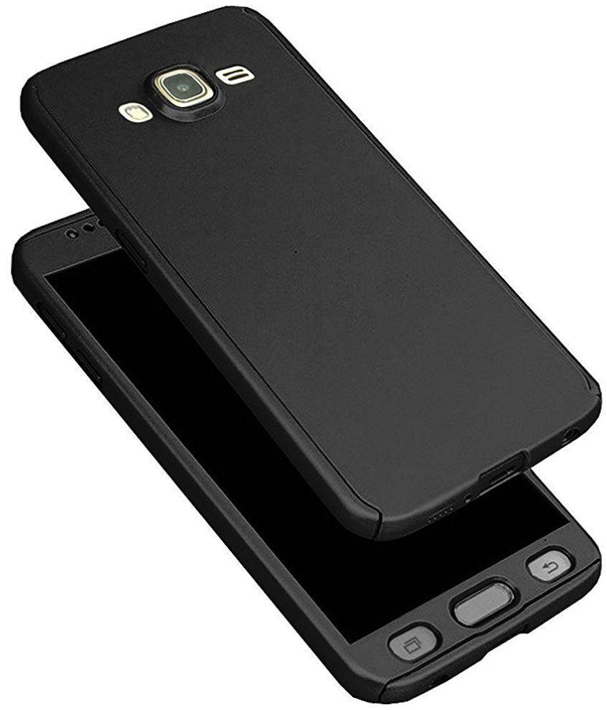 pretty nice a8dde fb60e Samsung Galaxy Grand 2 Cover by FoneBuddy - Black - Plain Back ...