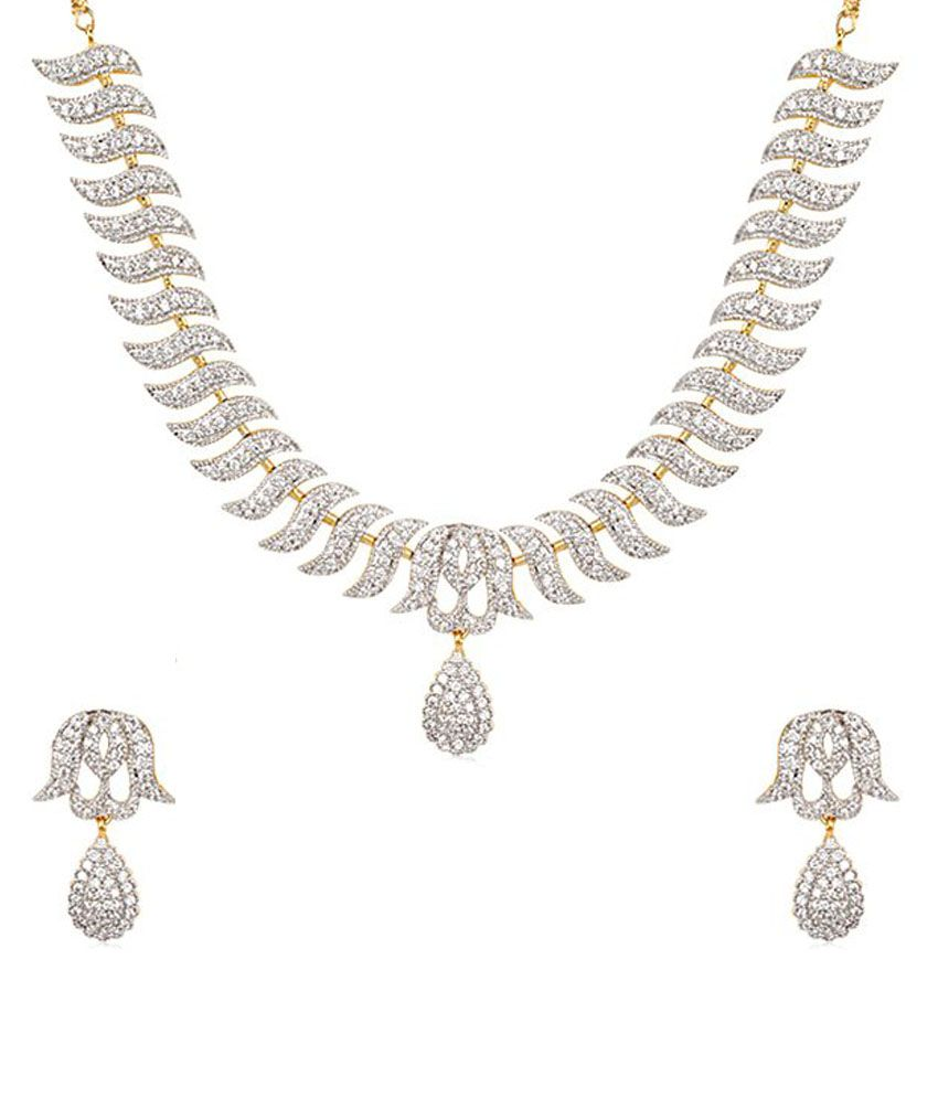 chand emerald of earring sets long griiham bali necklace haram stri copy collection products designer stones and studded set