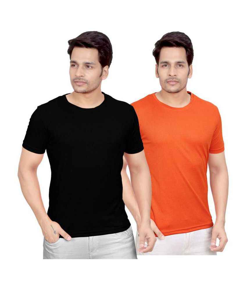 Fizzique Multi Round T-Shirt Pack of 2