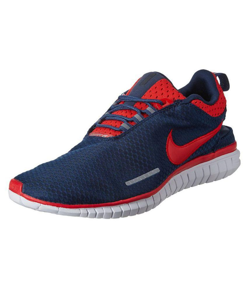 Nike Revolve  Navy Blue Running Shoes