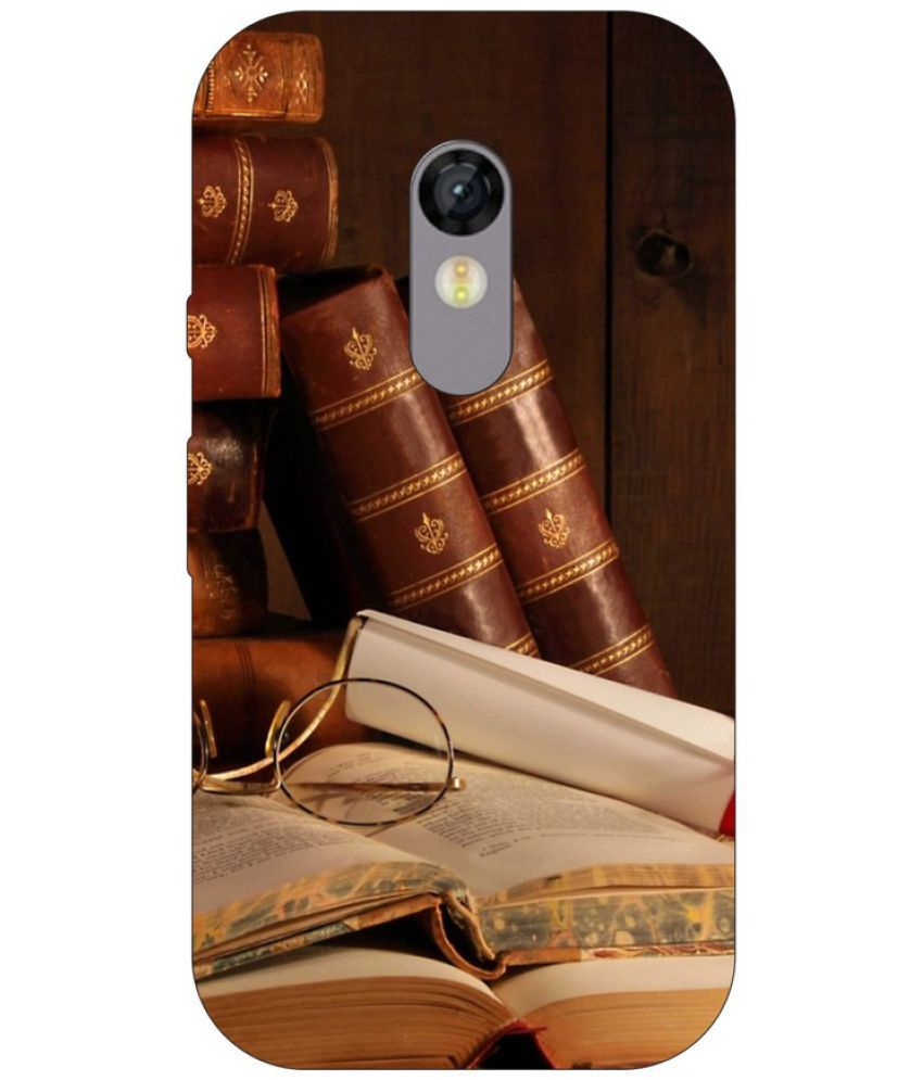 Moto G Turbo Printed Cover By Go Hooked