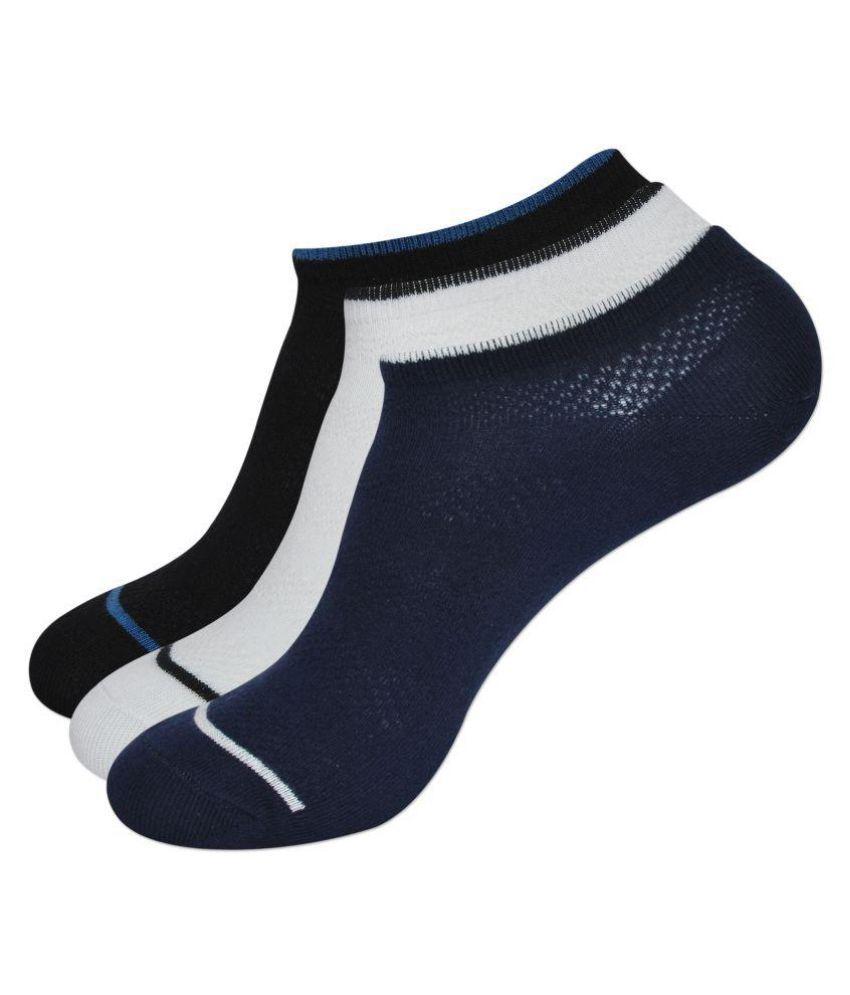 Balenzia Multi Casual Low Cut Socks Pack of 3