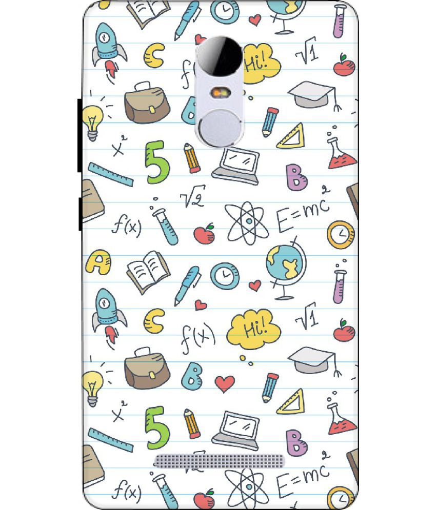 Xiaomi Redmi Note 3 Printed Cover By Mouse Trap
