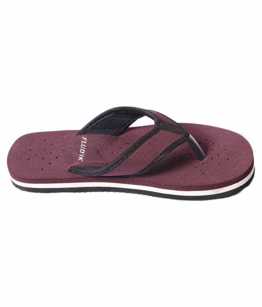 Fludik Purple Slippers