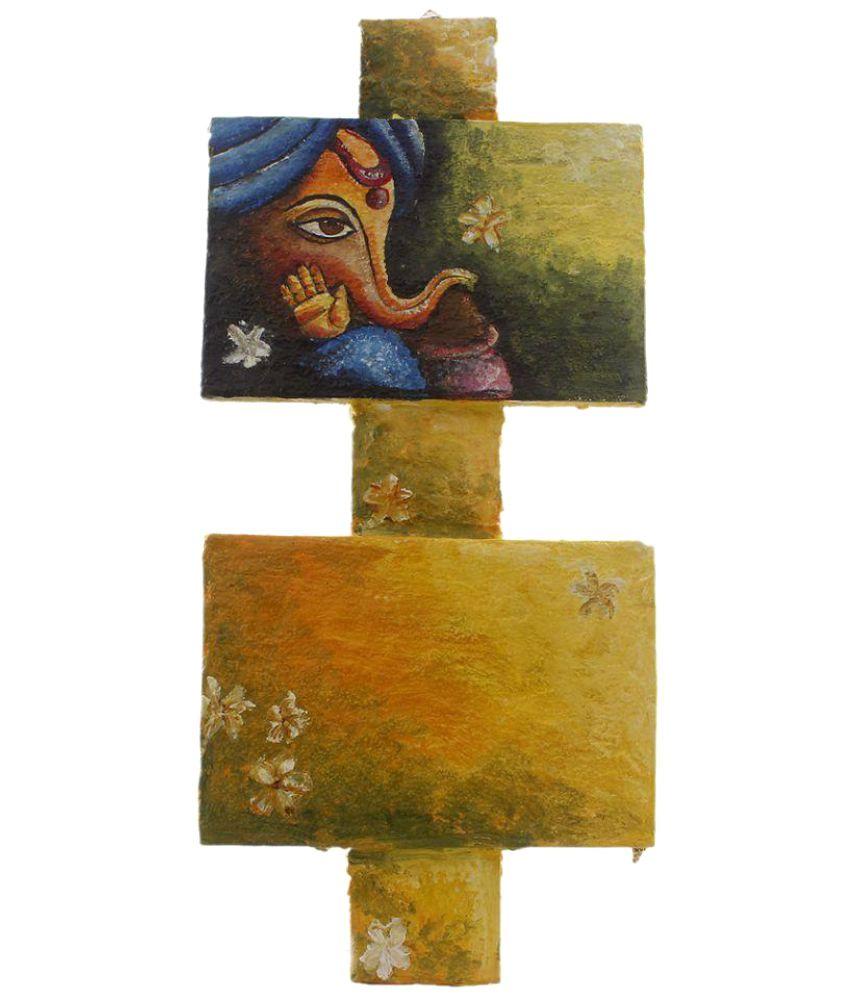 Atariya Wood Painting Without Frame Single Piece