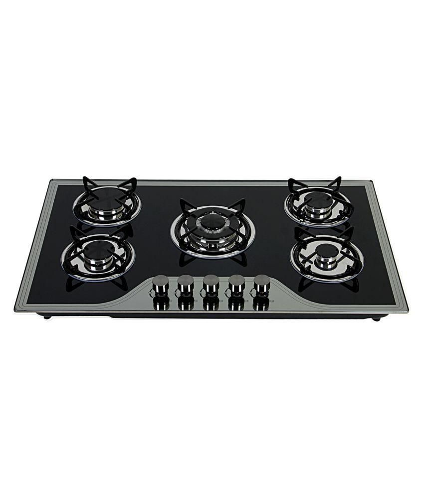 Elegant ELE-1015 5 Burner Built In Hob Gas Cooktop