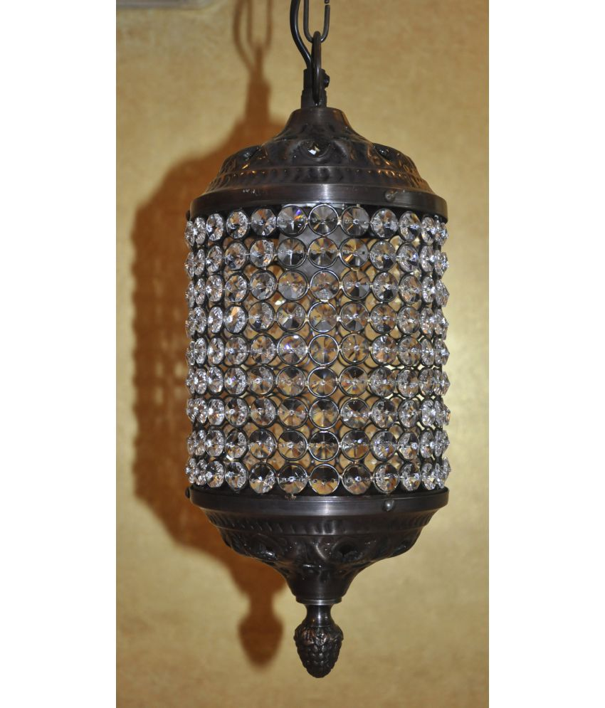 Hanging Lamp Price: Lal Haveli Home Decorative Crystal Hanging Lamp Ceiling