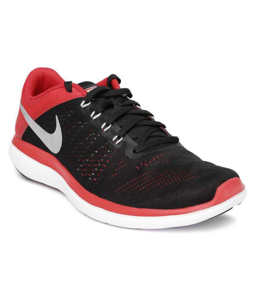 quite nice famous brand various design Nike FLEX 2016 RN Black Running Shoes