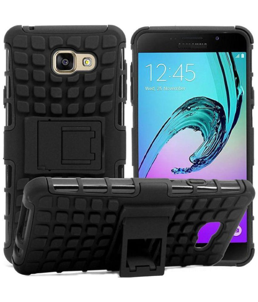 new style c6693 aa13d Samsung Galaxy J5 Prime Case With Stand by Lamayra - Black