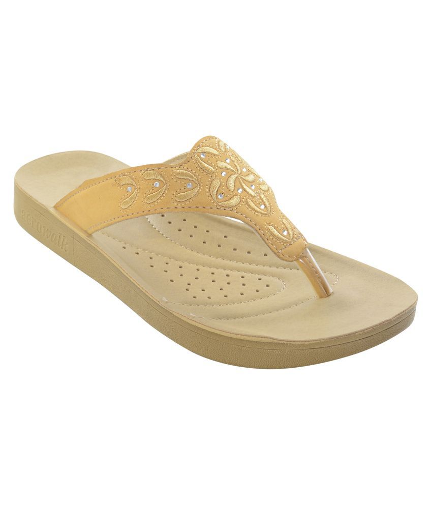 Aerowalk Beige Slippers