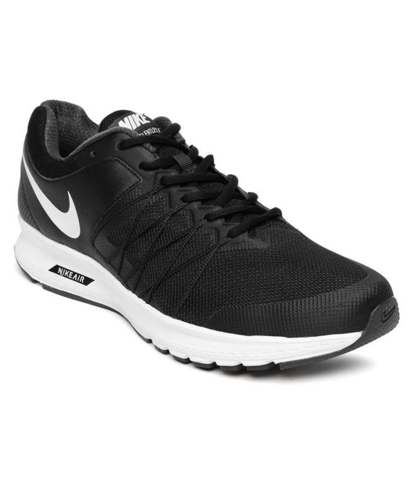 2edfcc1267e Nike AIR RELENTLESS 6 MSL Black Running Shoes - Buy Nike AIR RELENTLESS 6  MSL Black Running Shoes Online at Best Prices in India on Snapdeal