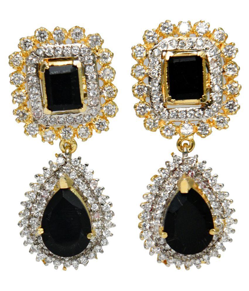 DLS Jewellery Multicolour Drop Earrings