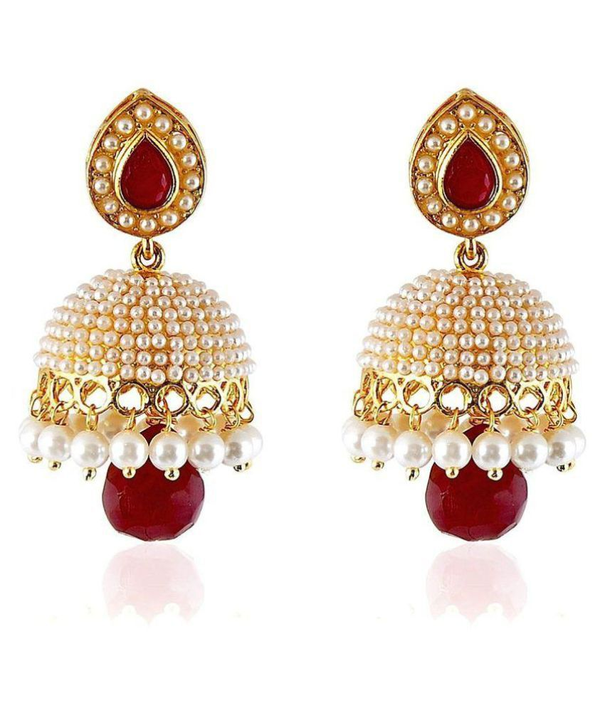 ShinningDiva Golden Jhumkis