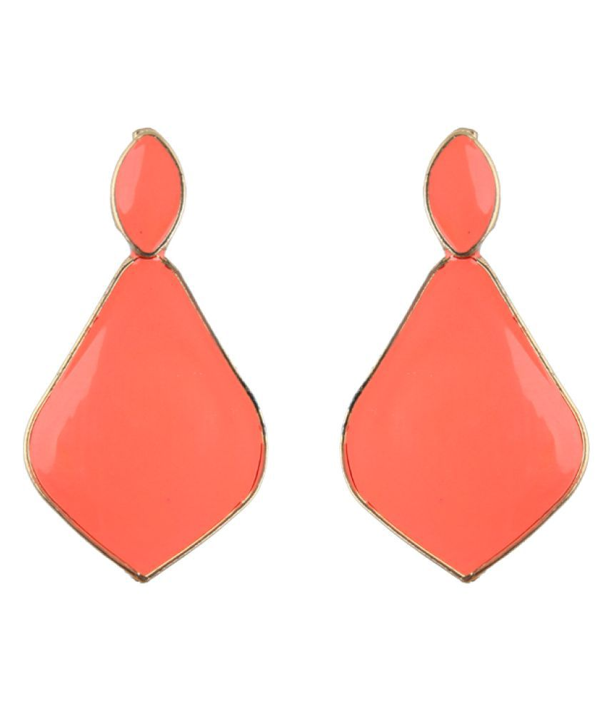 Waama Jewels Orange Hangings