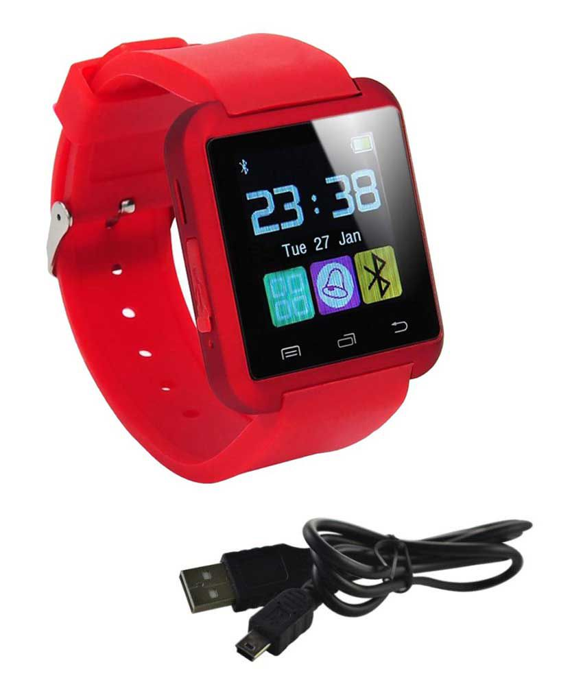 AKIRA vogue 2.4e Smart Watches Red