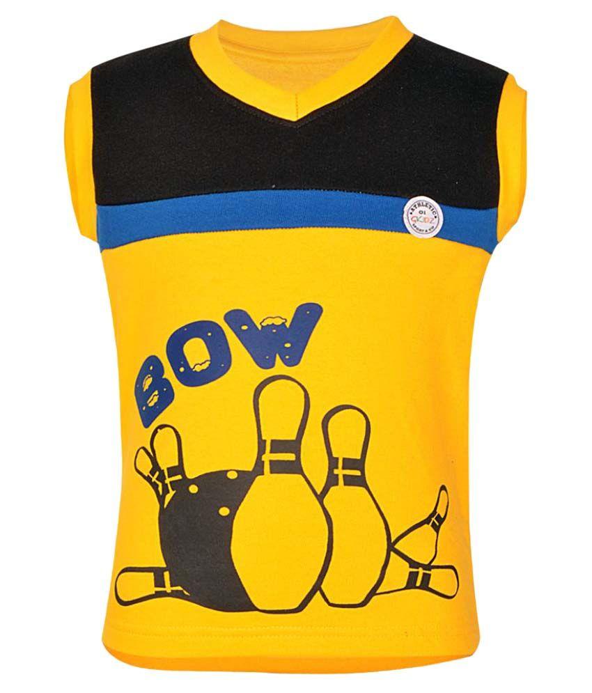 Gkidz Girls Sleeveless Sweatshirt