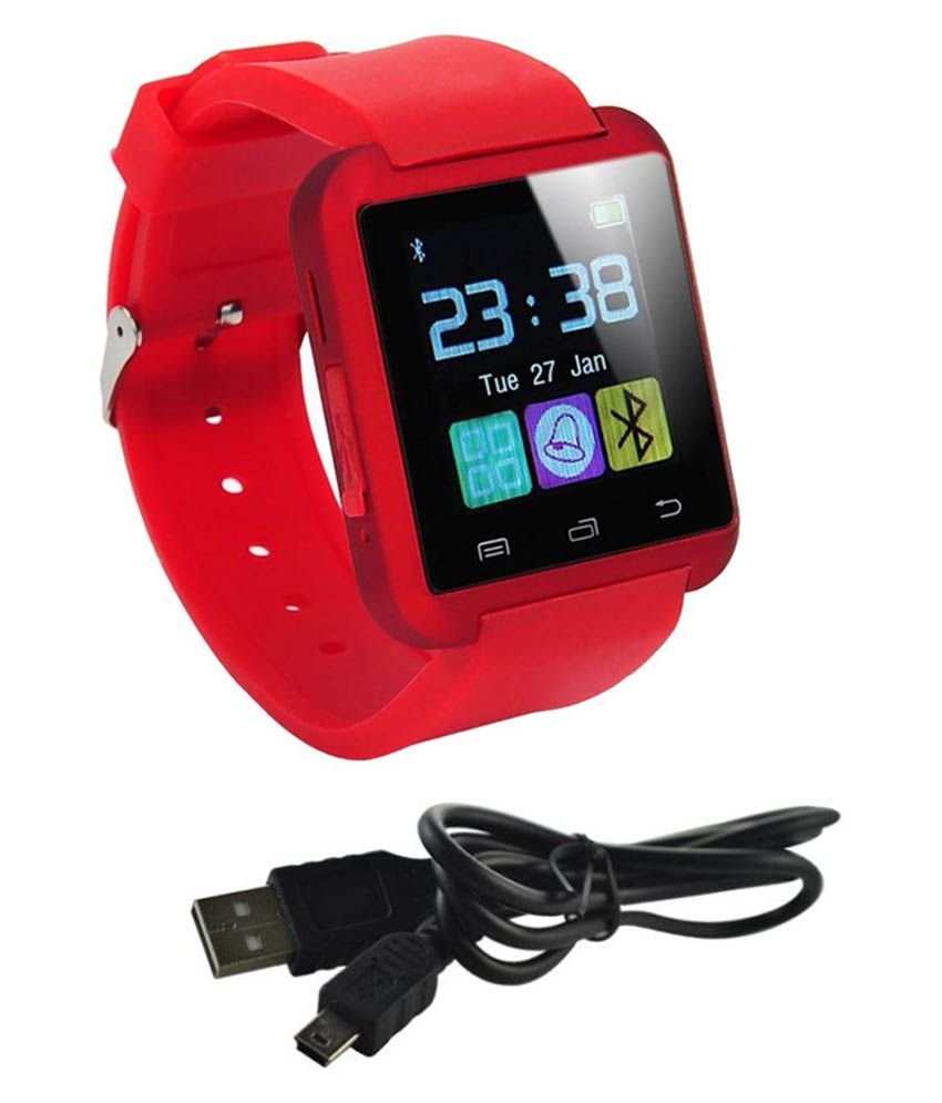 JIKRA Red Smart Watches a115