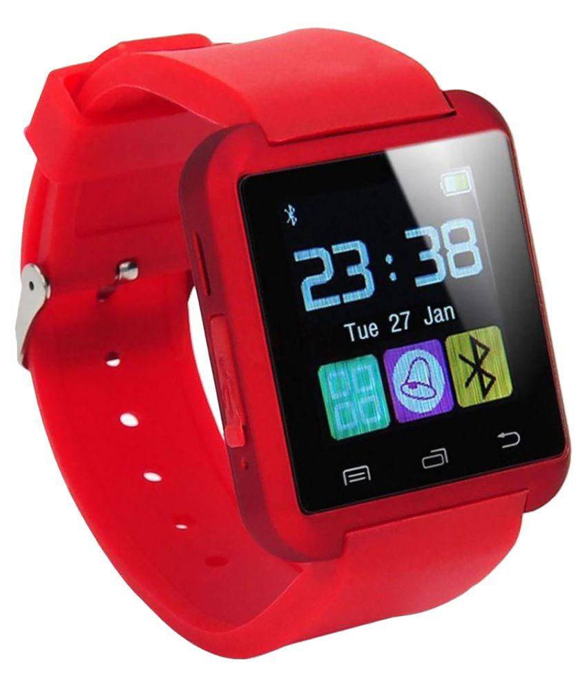JIKRA andi 5k Smart Watches Red