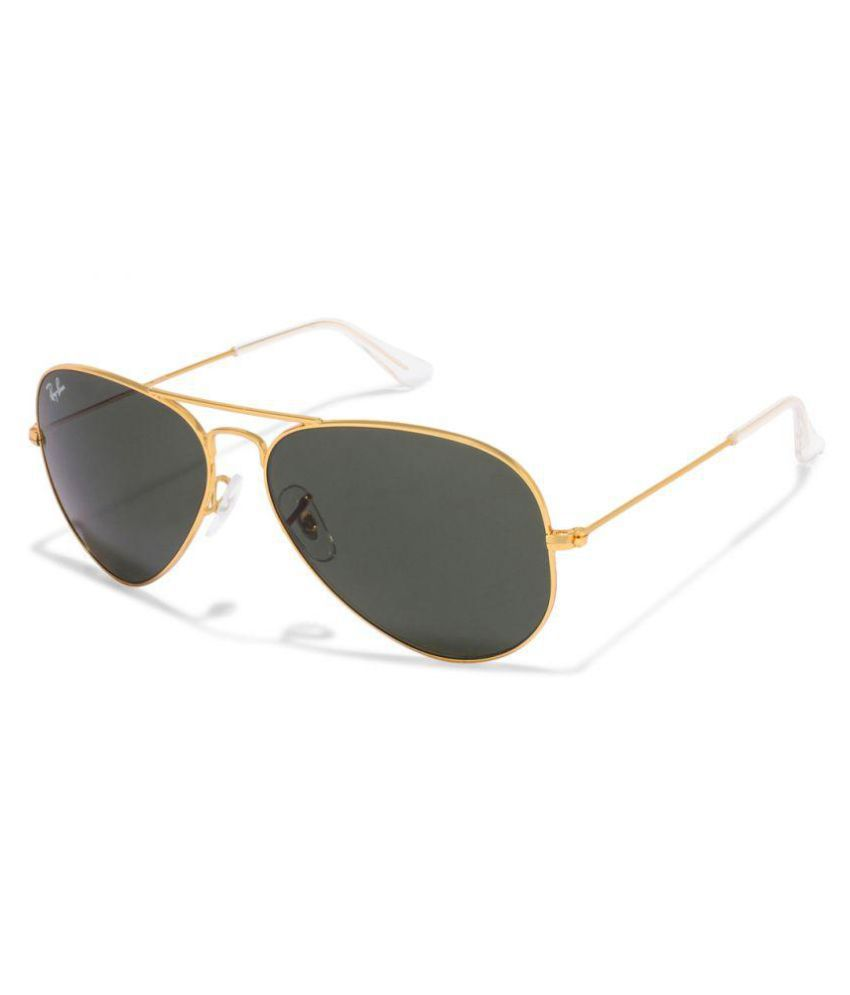 Ray-Ban Black Aviator Sunglasses ( RB-3025-L0205-58
