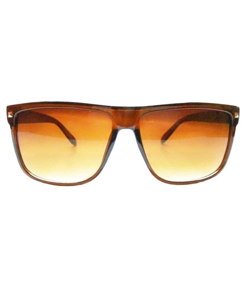 Viaano Brown Wayfarer Sunglasses ( VI-CHN3 )