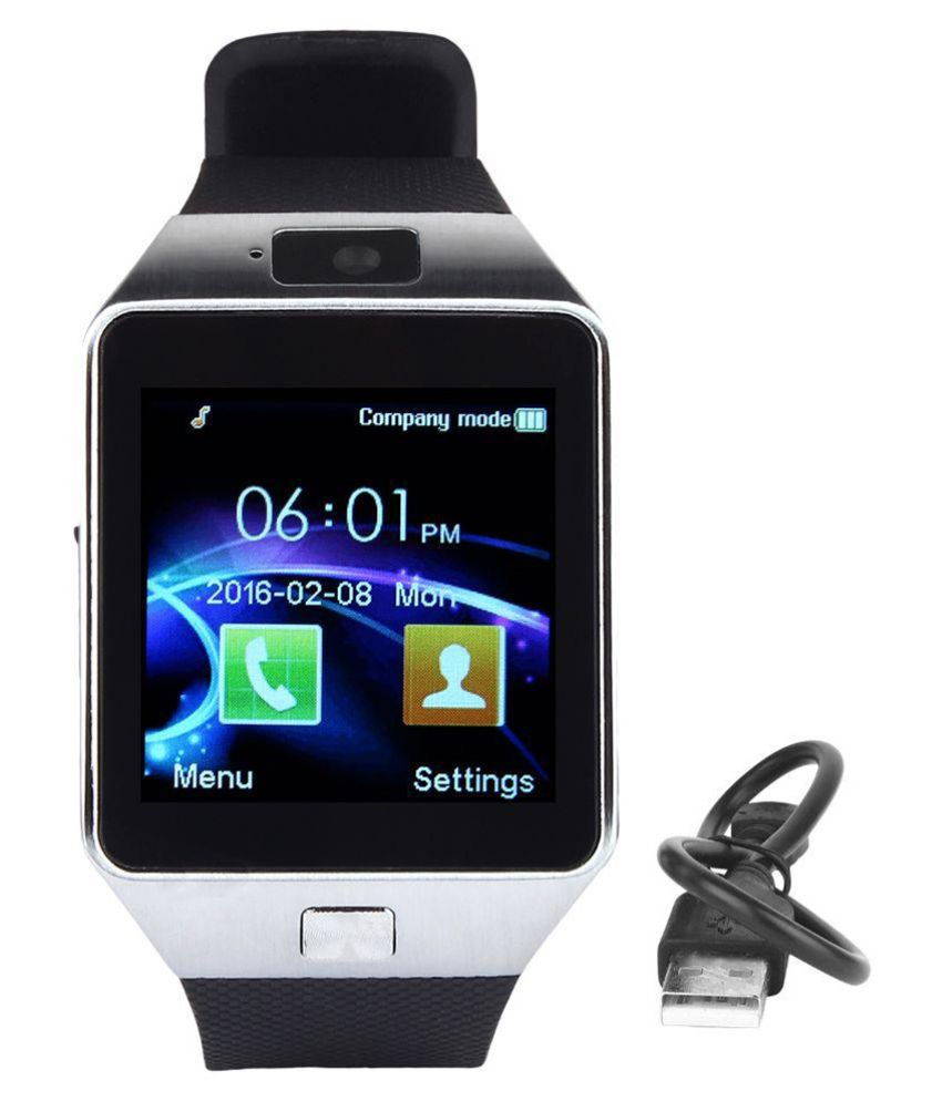 Incell glam Smart Watches Black