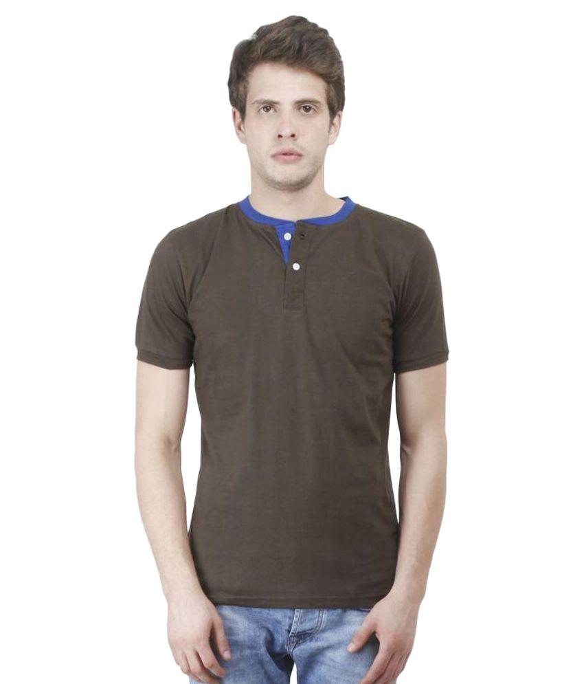 Swager Green Henley T-Shirt