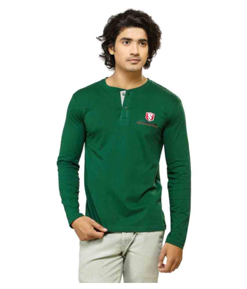 Smashers Green Henley T-Shirt