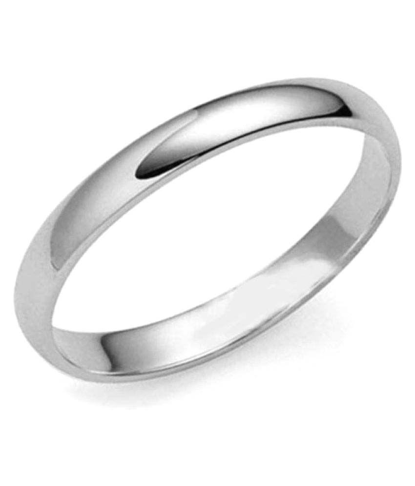 Anushka Jeweller 92.5 Silver Band Ring