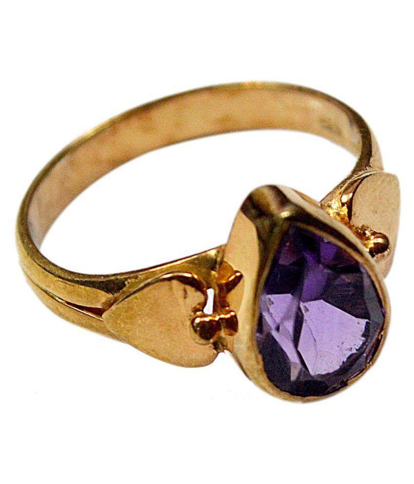 CCI 92.5 Silver Amethyst Ring