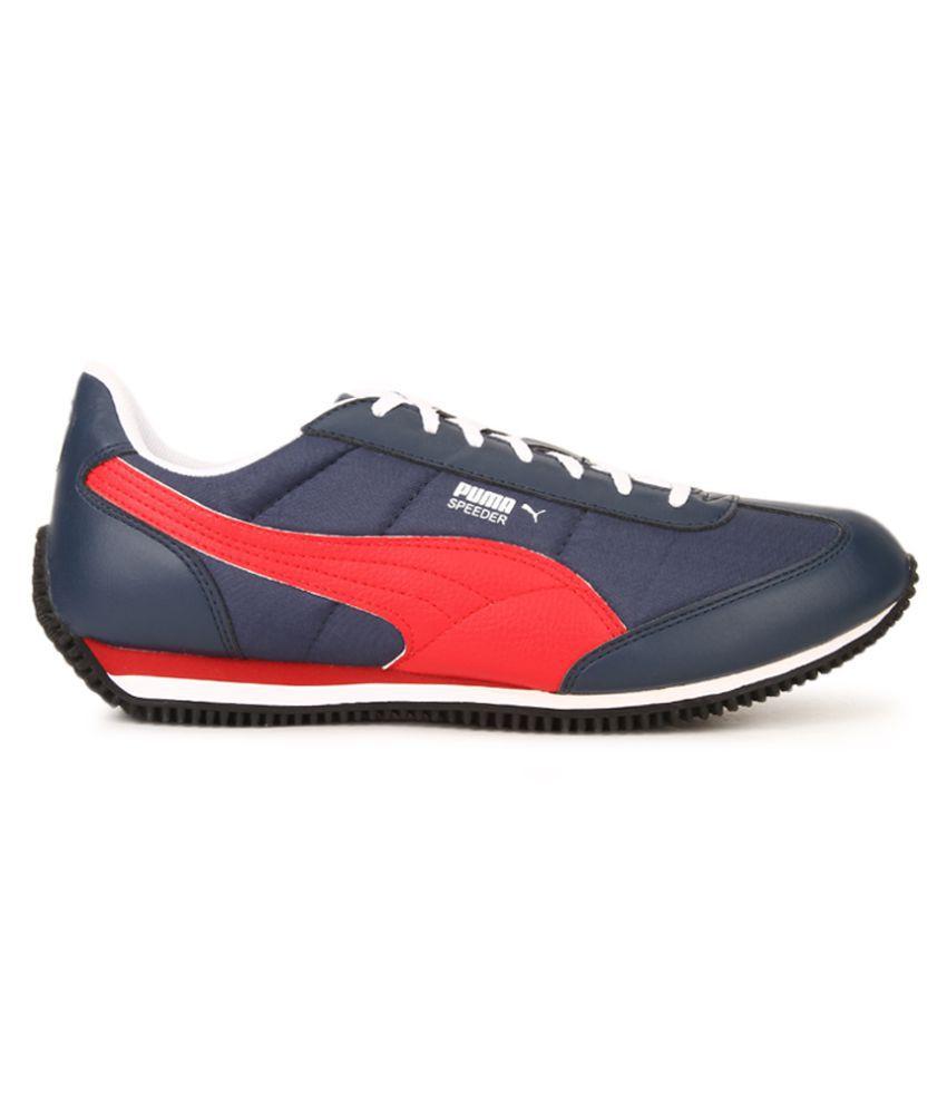f3b4e91f136 Puma Velocity Tetron II IDP Blue Wi Blue Casual Shoes - Buy Puma ...
