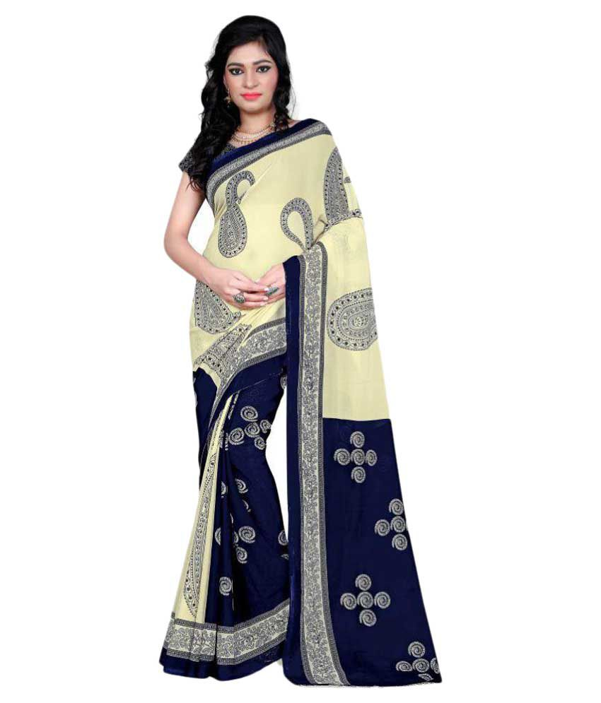 Indian Silks Multicoloured Georgette Saree