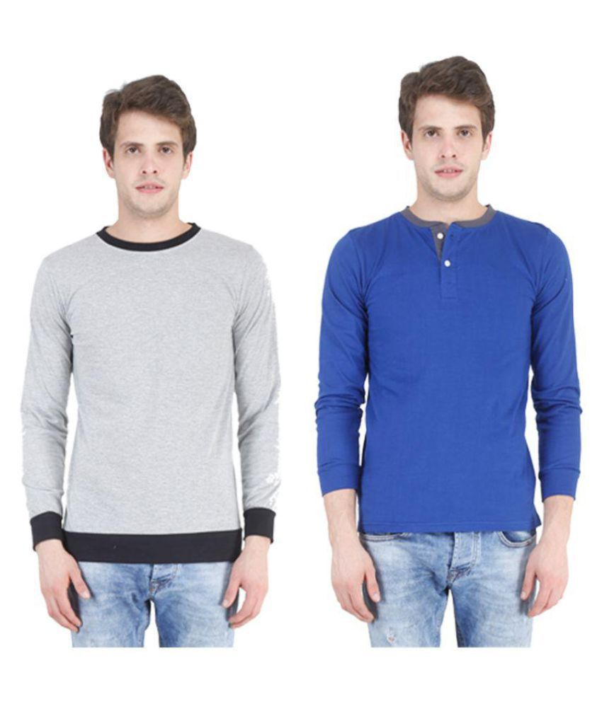 Swager Multi Round T-Shirt Pack of 2