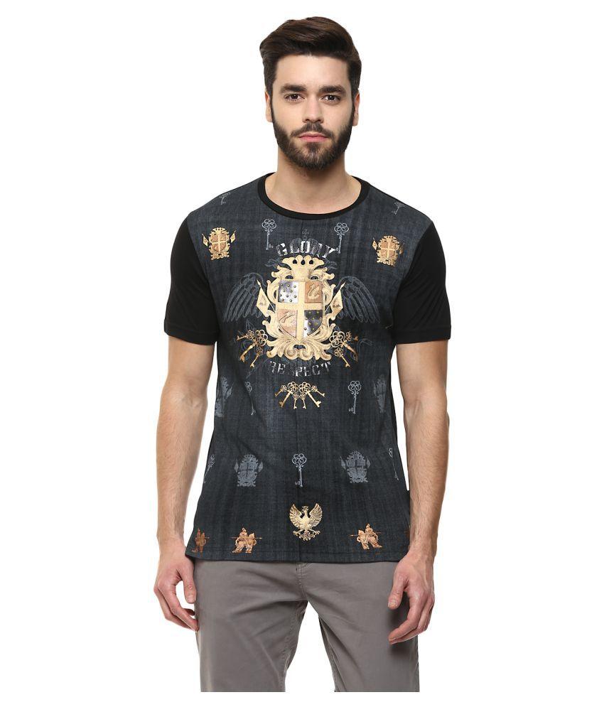 Fritzberg Black Round T-Shirt