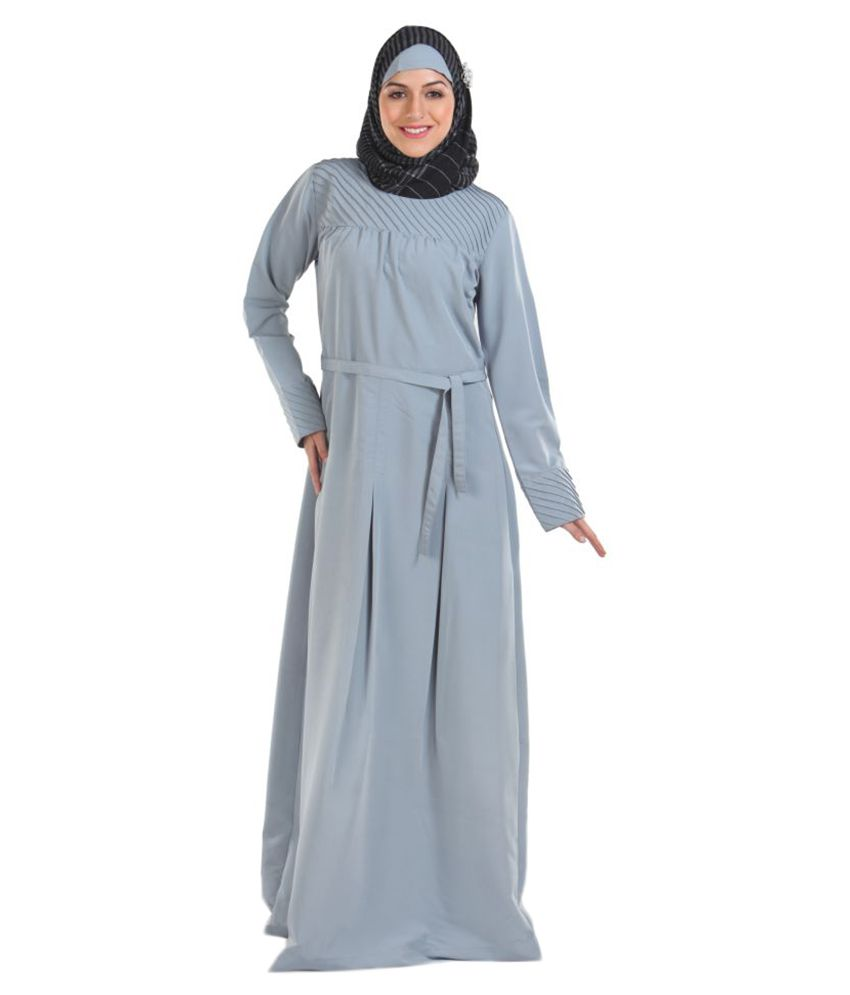 Momin Libas Multicoloured Polyester Stitched Burqas without Hijab