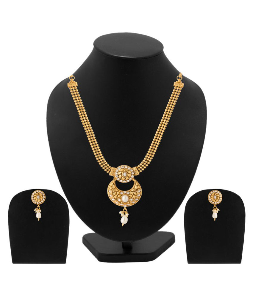 Diya Designer Necklace Set