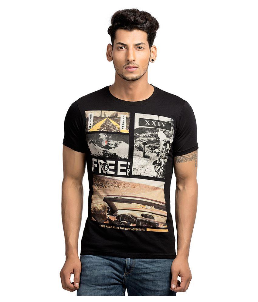 Maniac Multi Round T-Shirt