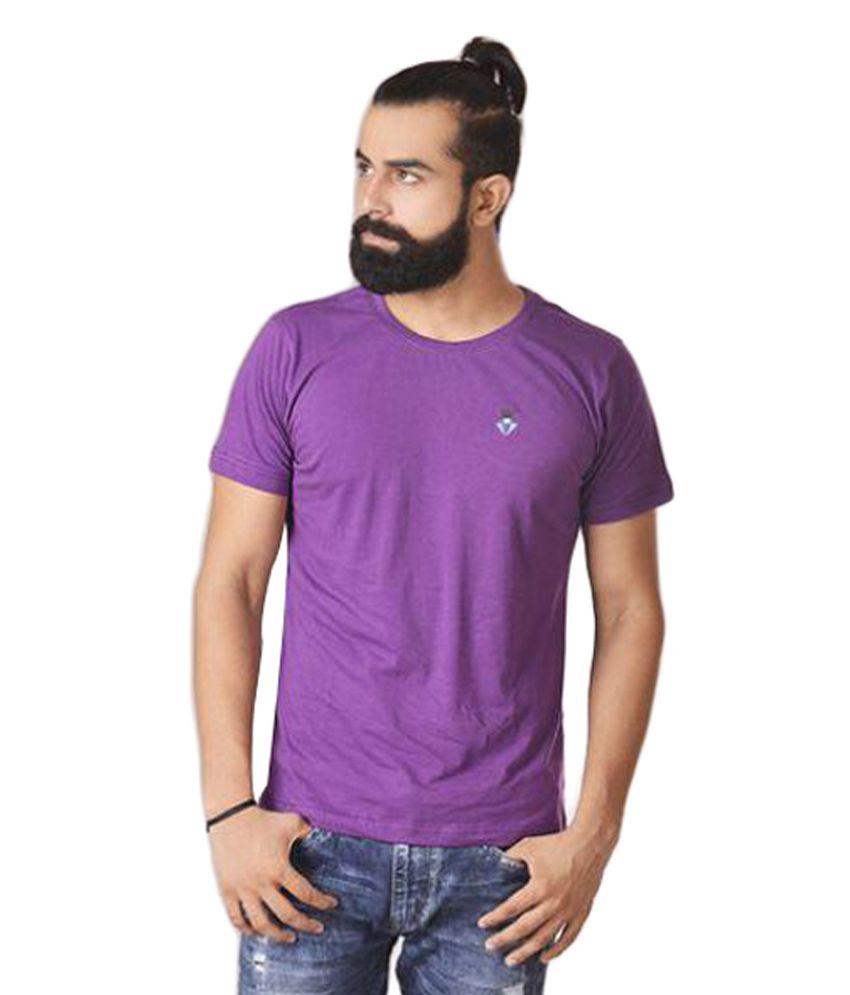 Merecedor Purple Round T-Shirt