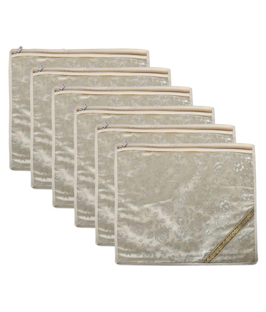 SuiDhaga Multi Saree Covers - 6 Pcs