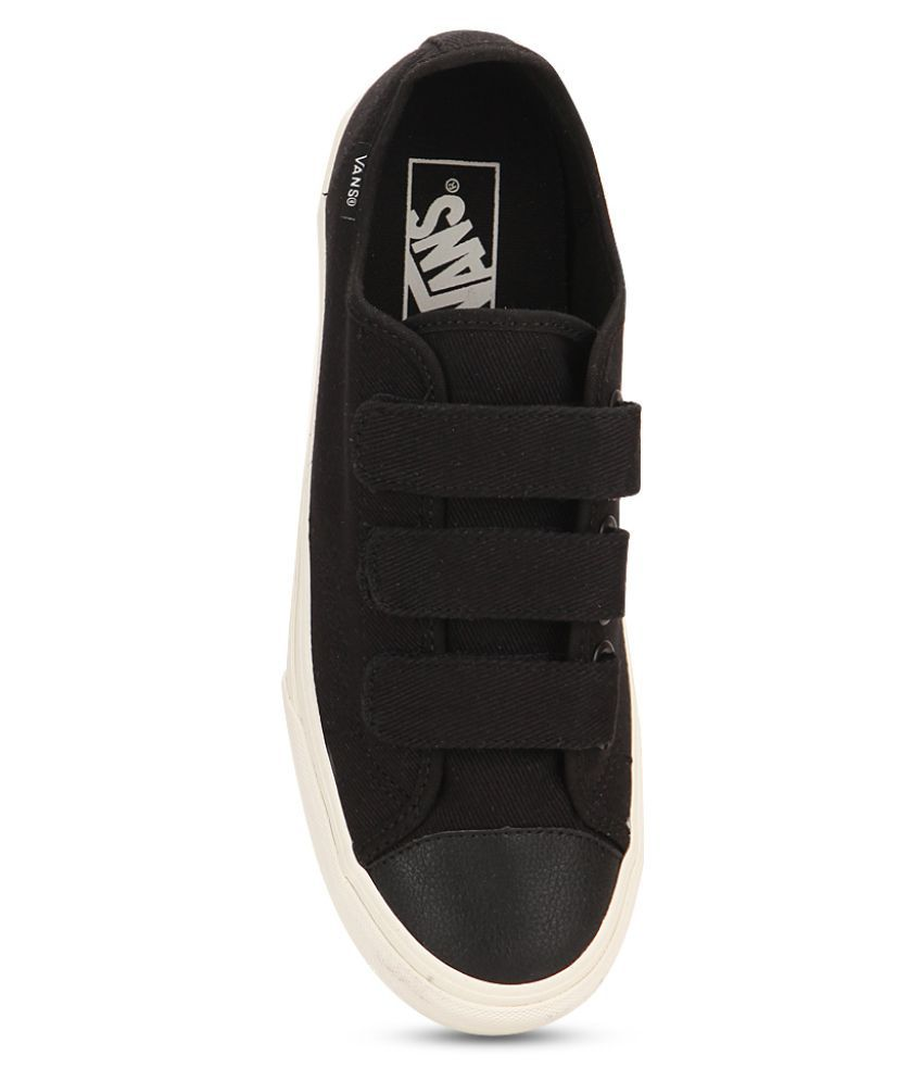 Vans Style 23 V Sneakers Black Casual Shoes
