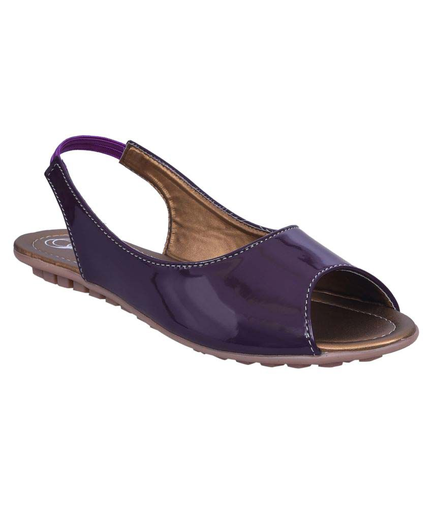 Jade Purple Flats