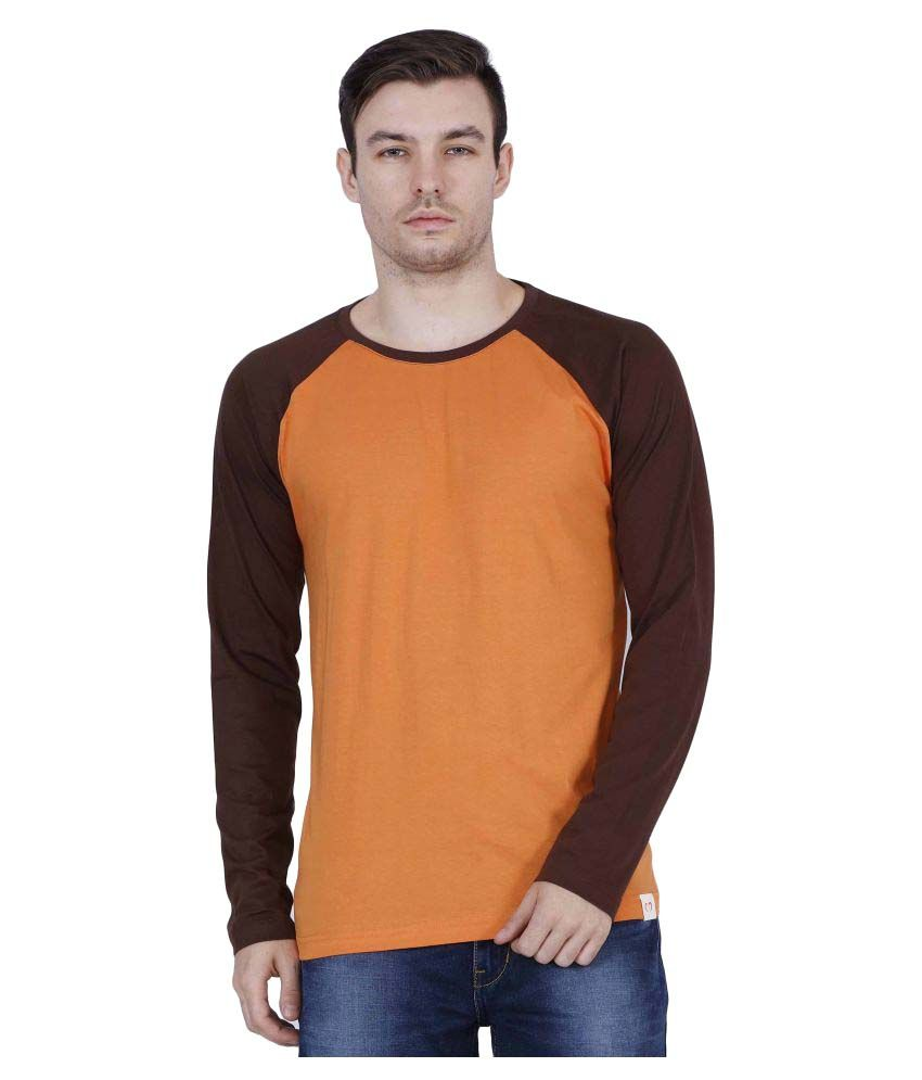 WrapCupid Orange Round T-Shirt