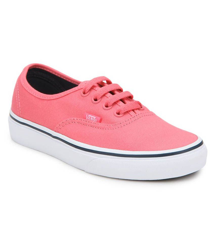 b58e54440e28 Vans Pink Sneakers Price in India- Buy Vans Pink Sneakers Online at Snapdeal