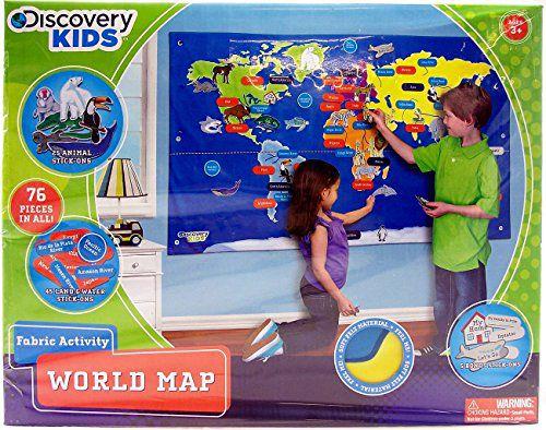Discovery Kids A Countivity World Map