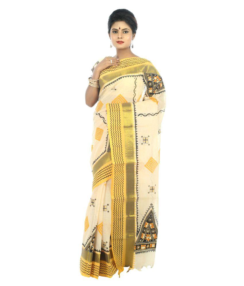 Garobini Multicoloured Silk Saree
